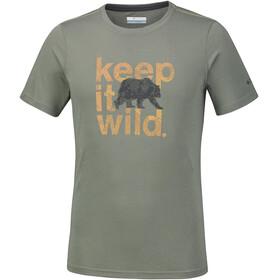 Columbia Miller Valley t-shirt Heren olijf